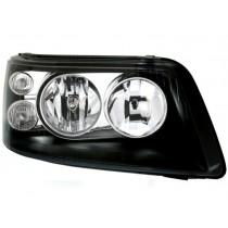 Φανάρια εμπρός  μαύρα για VW Transporter T5 (2003-2009)