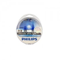 Λάμπες PHILIPS H3 12V 55W Diamond Vision 5000k 2τμχ