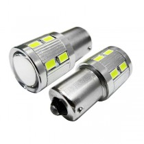 Λαμπτήρας Led Bau15S 12Smd 5630 +5 Watt Cree 10-30V Ψυχρό Λευκό