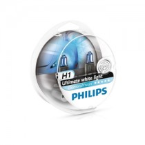 Λάμπες PHILIPS H1 12V 55W Diamond Vision 5000k 2τμχ