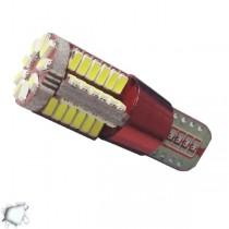 Λάμπα LED T10 57 SMD 3014 Can Bus 12 Volt Ψυχρό Λευκό GloboStar 21219
