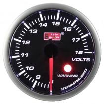 Όργανο Auto Gauge Warning Βολτόμετρο Φιμέ