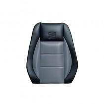 Κάλυμμα Δερματίνη Carbon Καθισμάτων Μαρκέ Μαύρο-Γκρι