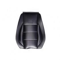 Κάλυμμα Δερματίνη Carbon Καθισμάτων Μαρκέ Μαύρο