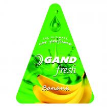 Αρωματικό Δεντράκι Gand Oil Banana Fresh