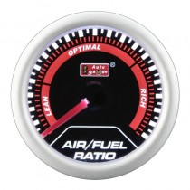 Όργανο Auto Gauge Hallmetre Air Fuel Ratio Μαύρο