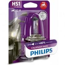 Λάμπα Philips HS1 12V 35/35W City Vision Moto 40% Περισσότερο Φως 1τμχ