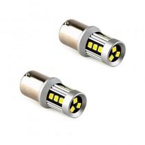 Λάμπες LED BA15S 15X3030SMD 12-24V 2Τμχ