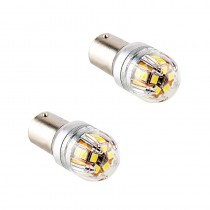 Λάμπες LED LX17 BA15S 15X2835SMD 12-24V 2Τμχ