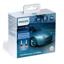 Λάμπες Philips H1 Ultinon Essential Led 12V 24V 19W 6500K 2τμχ