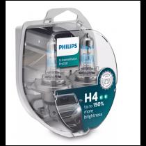 Λάμπες Philips H4 X-treme Vision Pro150 12V 60/55W Έως 150% Περισσ.Φως 2τμχ