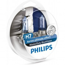 Λάμπες Philips H7 24V 75/70W Master Duty Blue Vision  2Τμχ