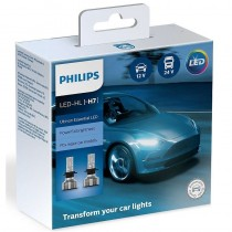 Λάμπες Philips H7 Ultinon Essential Led 12V 24V 20W 6500K 2τμχ