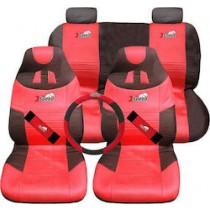 Καλύμματα καθισμάτων 8τχμ Σετ X-SPEED 3 ΣΕ 1 Κόκκινο
