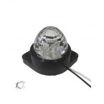 Led Πλευρικά Φώτα Όγκου Φορτηγών Bullet Ip66 6Smd 24V 1Τμχ