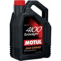 MOTUL 4100 Turbolight 10W-40 4Lt