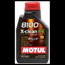 MOTUL 8100 X-CLEAN FE 5W-30 1Lt
