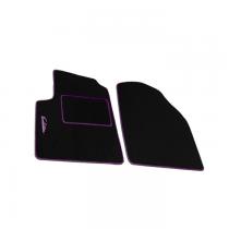 Μοκέτα Πατάκια Evolution Carpower Set 4τμχ Μαύρο-Ροζ