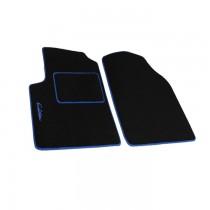 Μοκέτα Πατάκια Evolution Carpower Μπροστινά 2τμχ Μαύρο-Μπλε