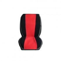 Πλατοκάθισμα Πετσετέ Διχρωμο Carpower Ελληνικό Οεμ 2Τμχ - Μαύρο-Κόκκινο