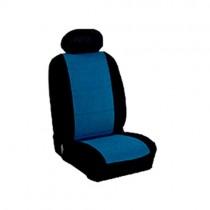 Κάλυμμα Alcantara Καθισμάτων Μαρκέ Μαύρο-Μπλε