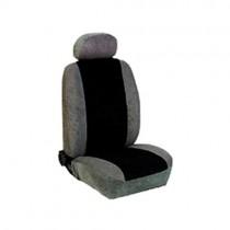 Κάλυμμα Alcantara Καθισμάτων Μαρκέ Γκρί-Μαύρο