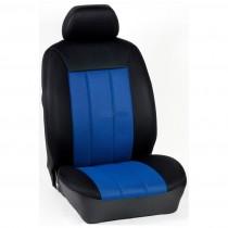 Κάλυμμα Τρυπητά R Καθισμάτων Μαρκέ Μαύρο-Μπλε
