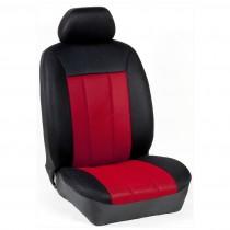 Κάλυμμα Τρυπητά R Καθισμάτων Μαρκέ Μαύρο-Κόκκινο