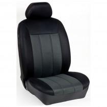 Κάλυμμα Τρυπητά R Καθισμάτων Μαρκέ Μάυρο-Ανθρακί