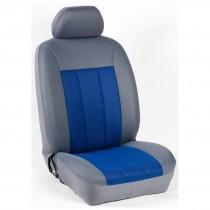 Κάλυμμα Τρυπητά R Καθισμάτων Μαρκέ Γκρι-Μπλε