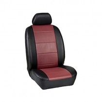 Κάλυμμα Δερματίνη D Καθισμάτων Μαρκέ Μαύρο-Κόκκινο