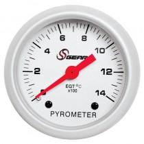 Όργανο S Gear Πυρόμετρο 1400 Βαθμούς Κελ.Λευκό