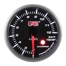 Όργανο Auto Gauge Warning Πυρόμετρο Φιμέ