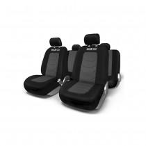 Κάλυμμα Καθισμάτων Πλήρες Sparco Polyester Mesh Spc1019Gr Μαύρο-Γκρι
