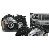Φανάρια Led Angel eyes για Jeep Grand Cherokee (2008-2010)