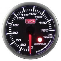 Όργανο Auto Gauge Warning Θερμοκασία Λαδιού Φιμέ