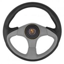 Τιμόνι Αυτοκινήτου Autoline Wrs Tss 35Cm Μαύρο-Γκρι
